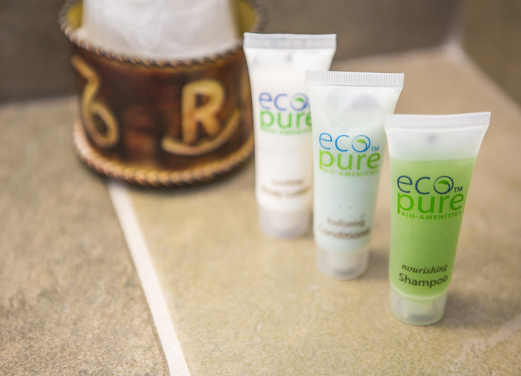 Suite - Close up amenities