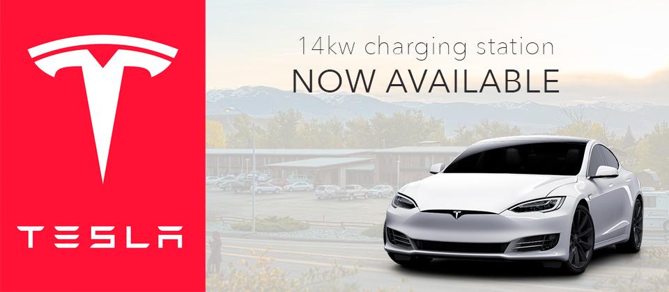 Tesla home sllider